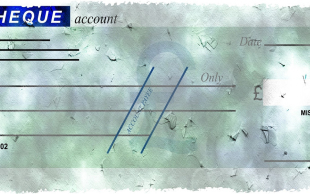 转账支票背书