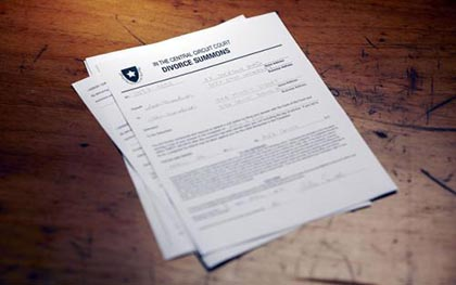 离婚诉讼对方不理会法院传票怎么办