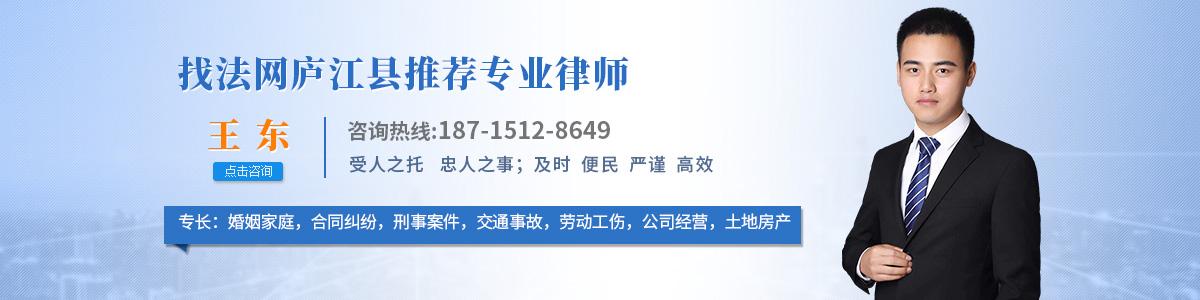庐江县王东律师