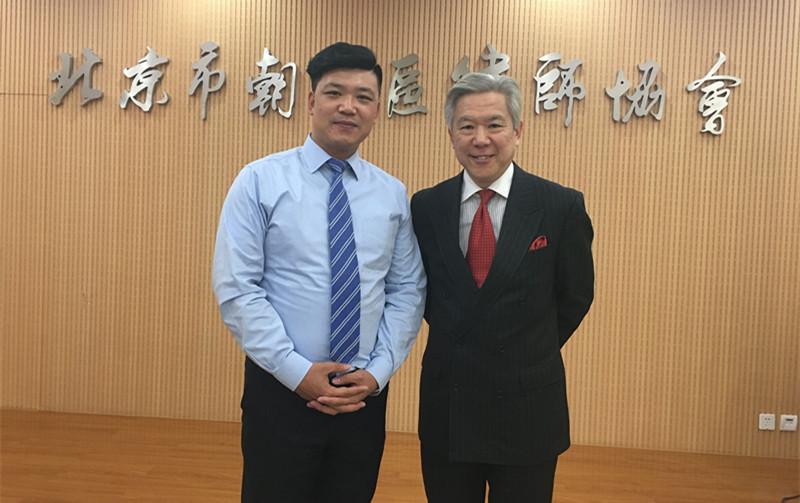 杨志峥主任和香港大律师合影