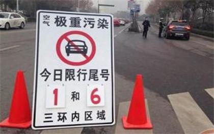 北京违反限行尾号怎么处罚