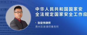 中华人民共和国国家安全法规定国家安全工作应当